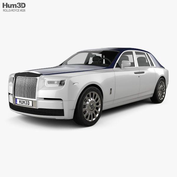 Rolls Royce Phantom 2018 3d Model From Hum3d Com Rolls Royce Phantom Rolls Royce Royce