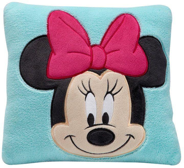 Disney's Minnie Mouse Decorative Pillow TurquoiseBlue TurqAqua Custom Minnie Mouse Decorative Pillow