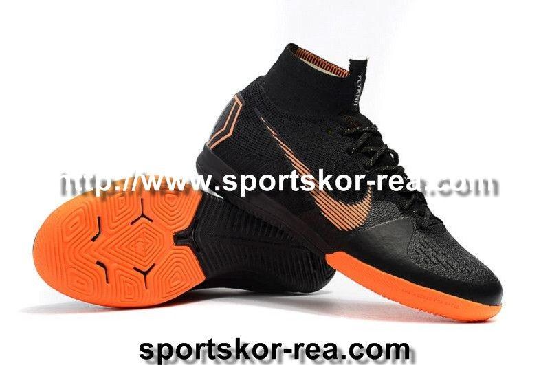 new product 3c339 bd1bb ... new styles f32a7 8343c Beställa Fotbollsskor Nike Dam Mercurial  SuperflyX VI Elite IC Svart Orange Vit