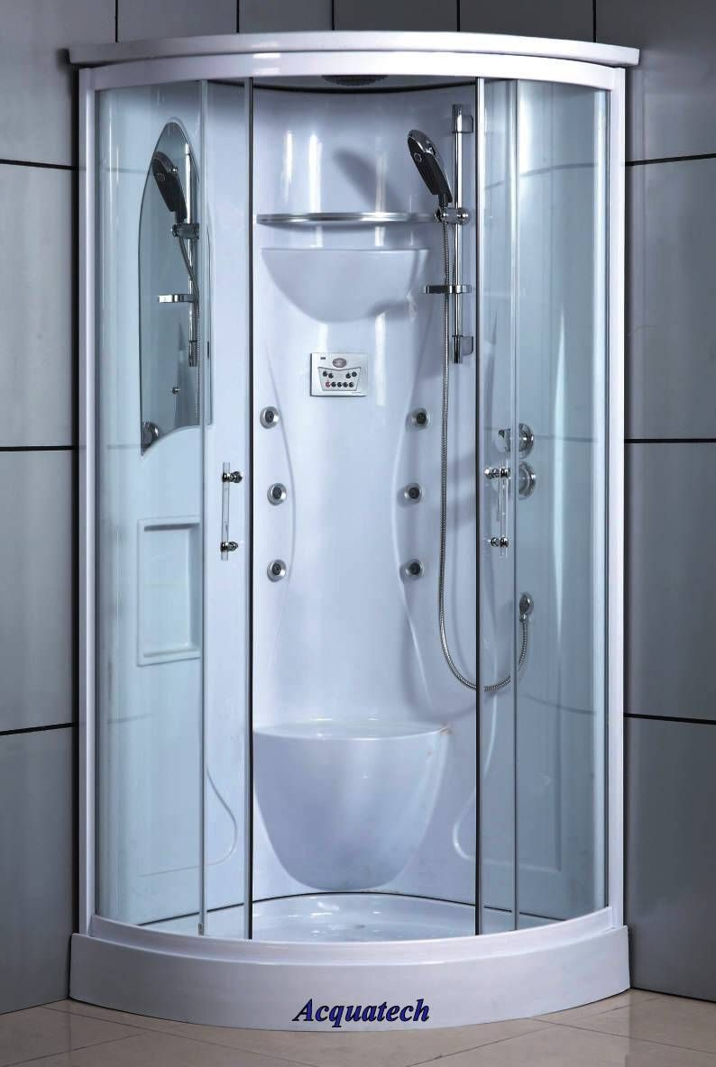 Corner Shower Enclosure w/ Radio & Massage #5026 - 35\