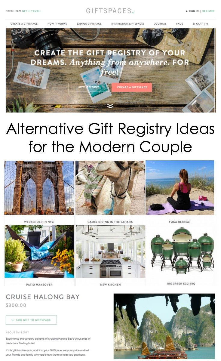 Alternative Gift And Wedding Registry Ideas For The Modern Couple