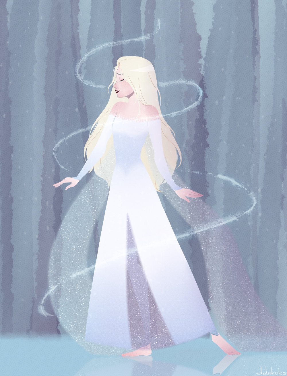 Tumblr Is A Place To Express Yourself Discover Yourself And Bond Over The Stuff You Love It S Where Your Inter In 2020 Disney Princess Art Disney Elsa Disney Frozen