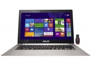 Ultrabook Asus Zenbook Intel Core i7 3GHz - 8GB 512GB Windows 8 LED 13,3 + Pen Drive 32GB