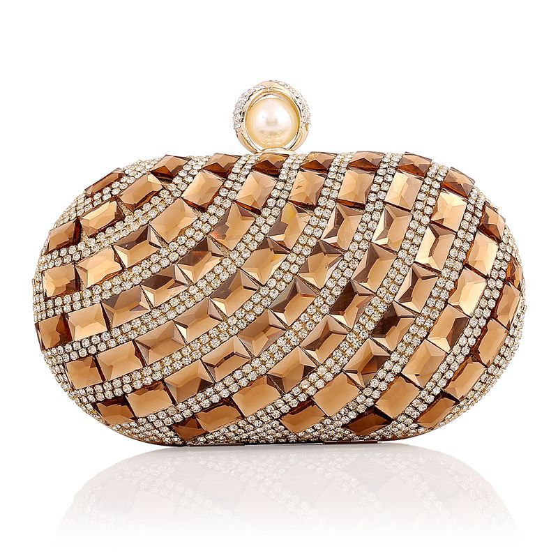 Cheap Crystal Clutch Evening Bags Buy Quality Directly From China Bag Wedding Suppliers Diamond Luxury Gold Clutches