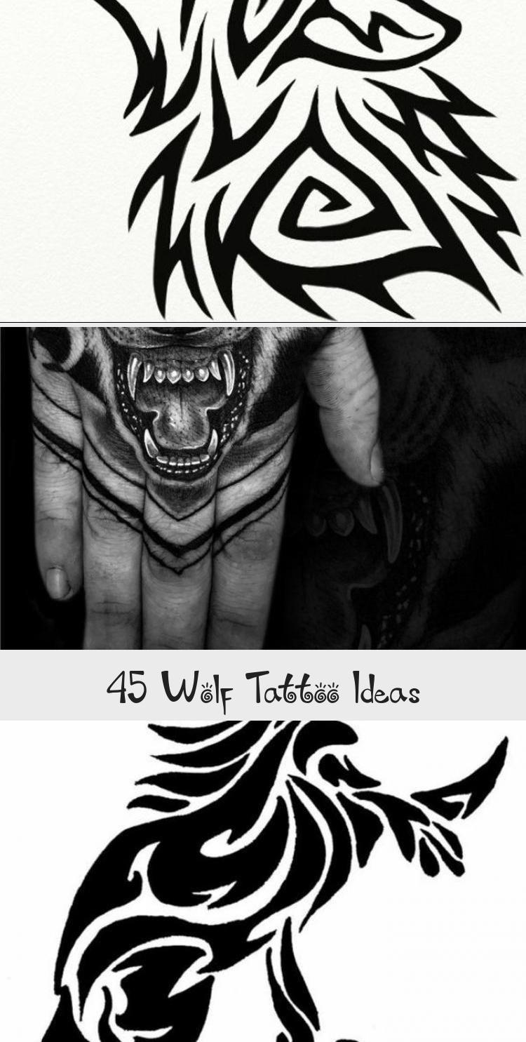 Photo of 45 Wolf Tattoo Ideas – Tattoos and Body Art –  45 Wolf Tattoo Ideas #Africantrib…