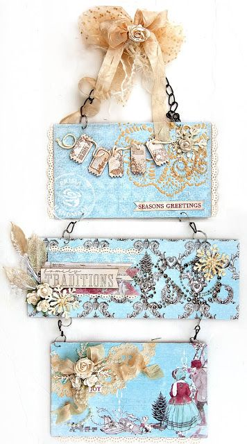 Prima Holiday Jubilee Wall Hanging - Scrap Escape