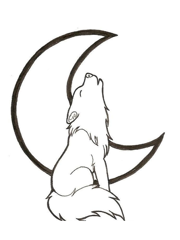 Baby Wolves Coloring Pages Wolves Are One Of The Wild Animals Or Hunting Animals That Live In Groups That Ca Cute Wolf Drawings Wolf Drawing Easy Wolf Drawing