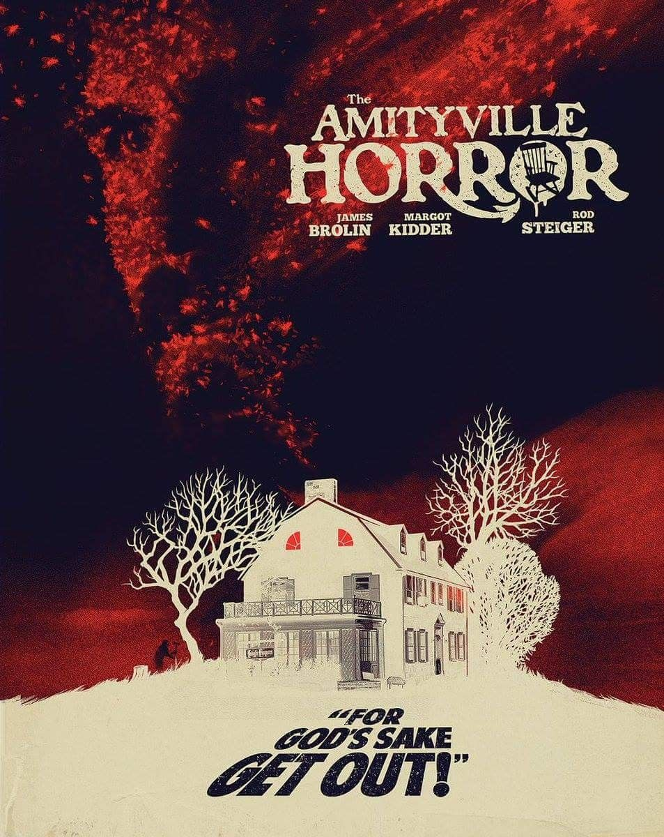 Horror Movie Poster Art The Amityville Horror, 1979 by
