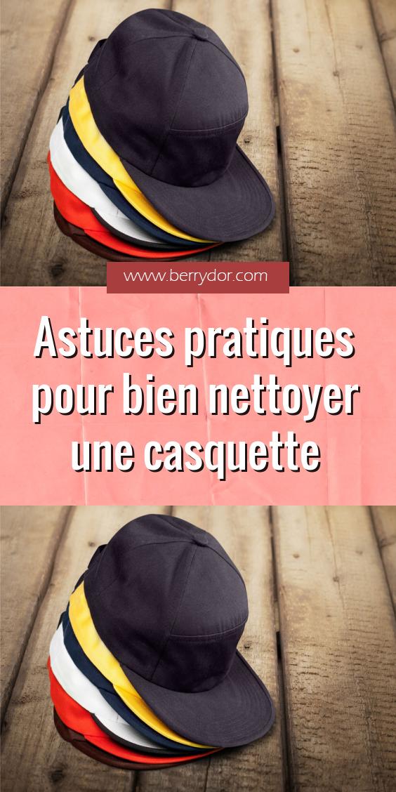 Astuces pratiques pour bien nettoyer une casquette en 2020 | Astuces pratique, Rangement pour ...