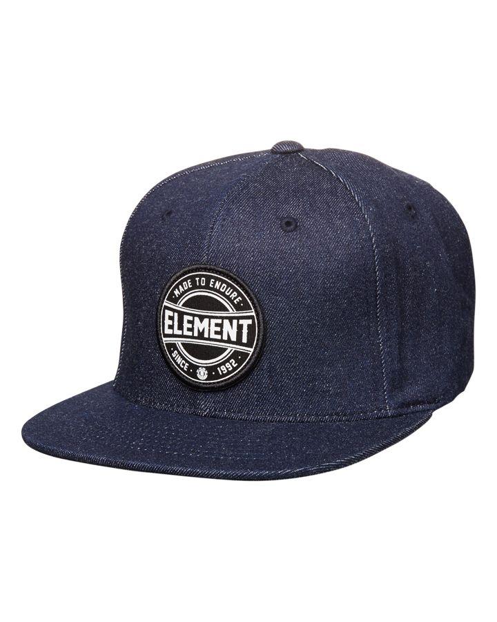 Element - Scheme Snapback Cap - Indigo - P5CTB5 | Element