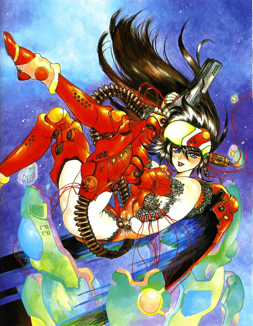 Masamune Shirow Anime in 2019 Masamune shirow, Art
