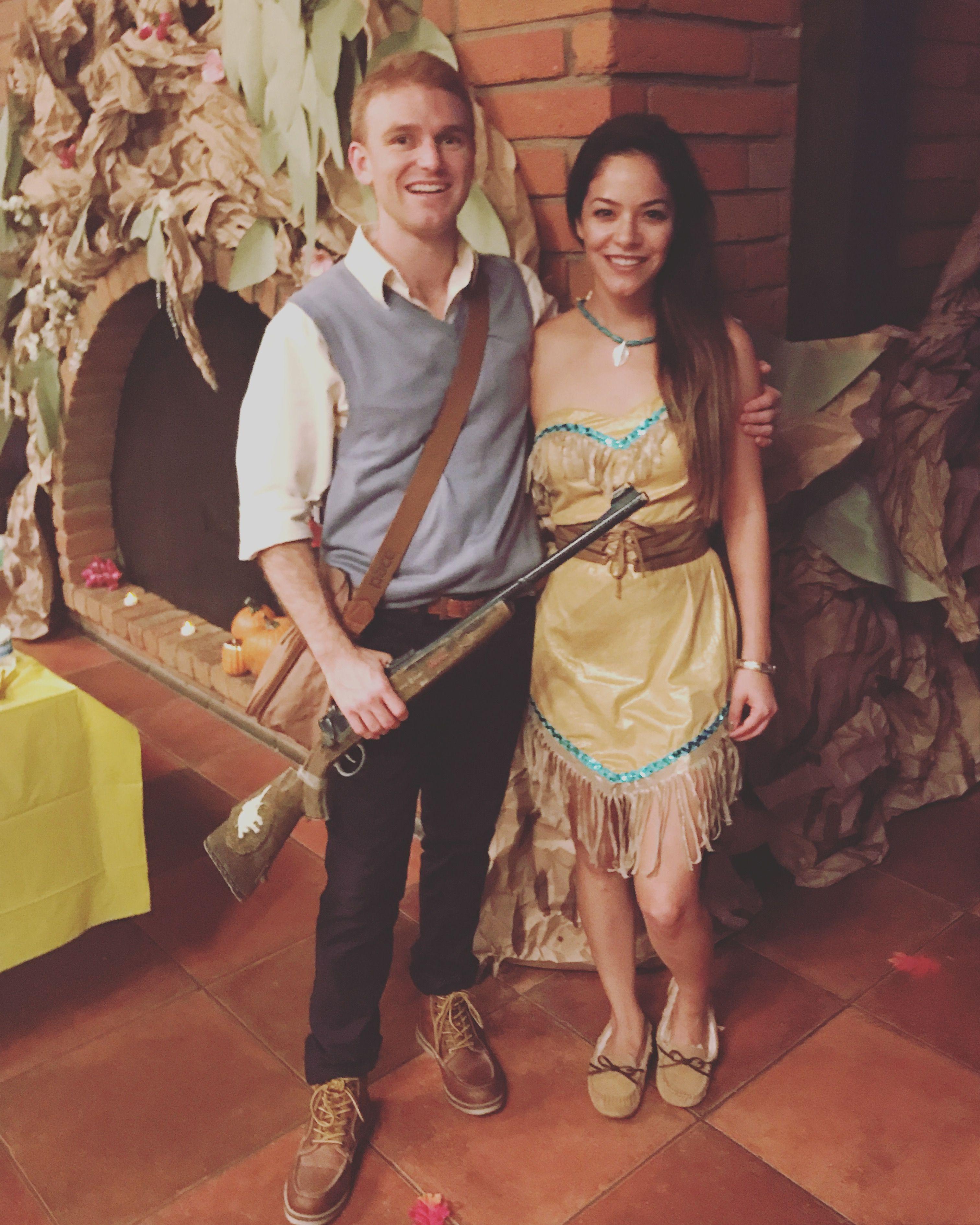 Pocahontas & John Smith Halloween costume #Pocahontas couples ...