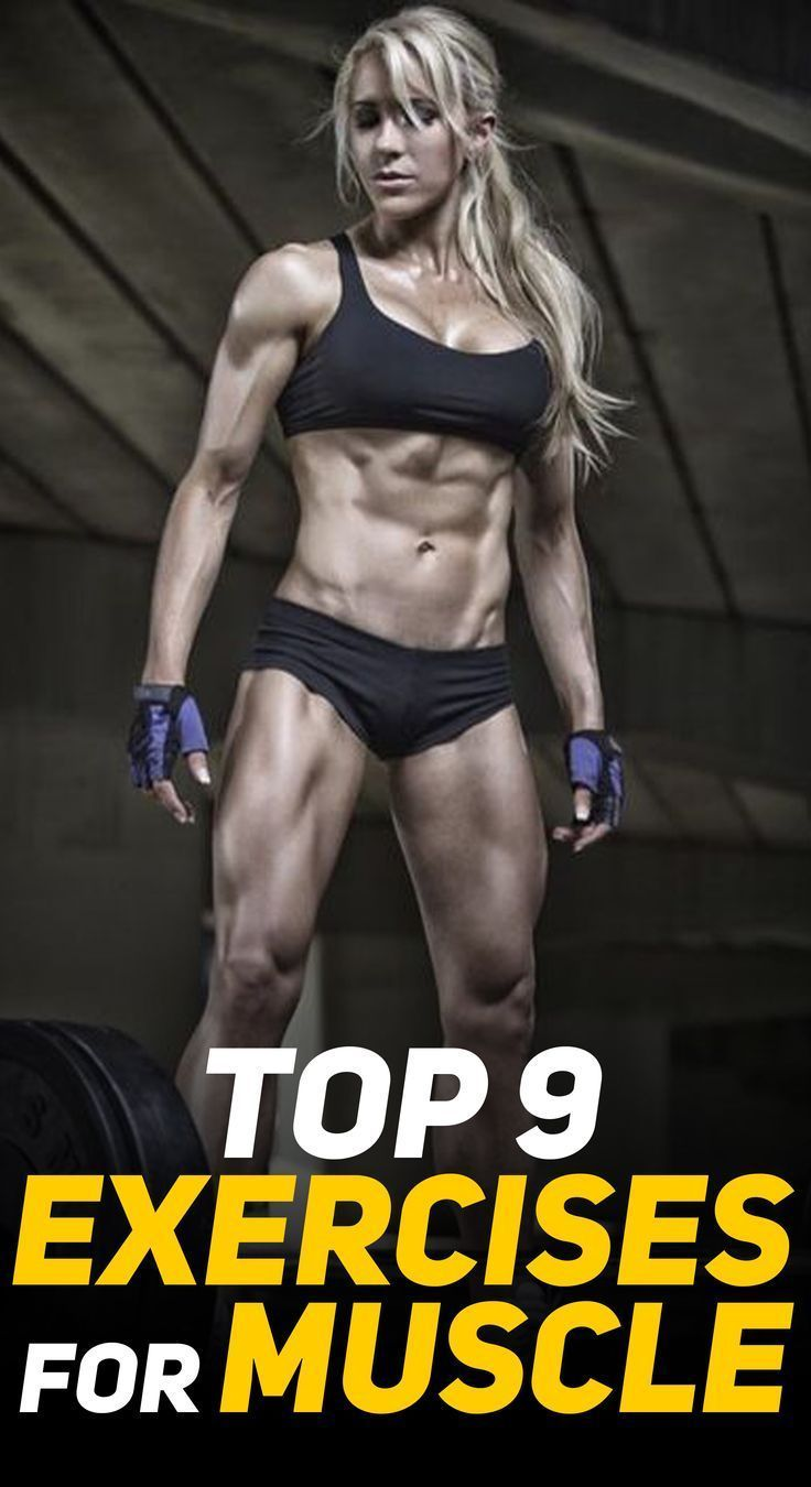 #Exercises #Growth #muscle The 9 Best Exercises For Muscle Growth Here are the Top 9 Exercises that...