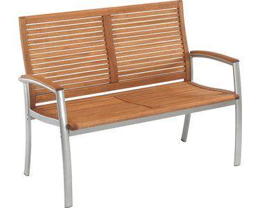 Gartenbank Barrie 2 Sitzer 91 X 121 X 60 Cm Kaufen Bei Obi Obi Gartenbank Gartenbank Aussenmobel