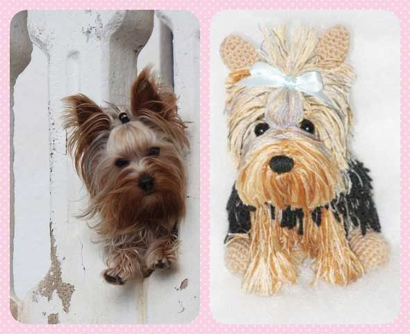 Pin de Marina Inada en Crochet | Pinterest | Yorkshire terrier ...