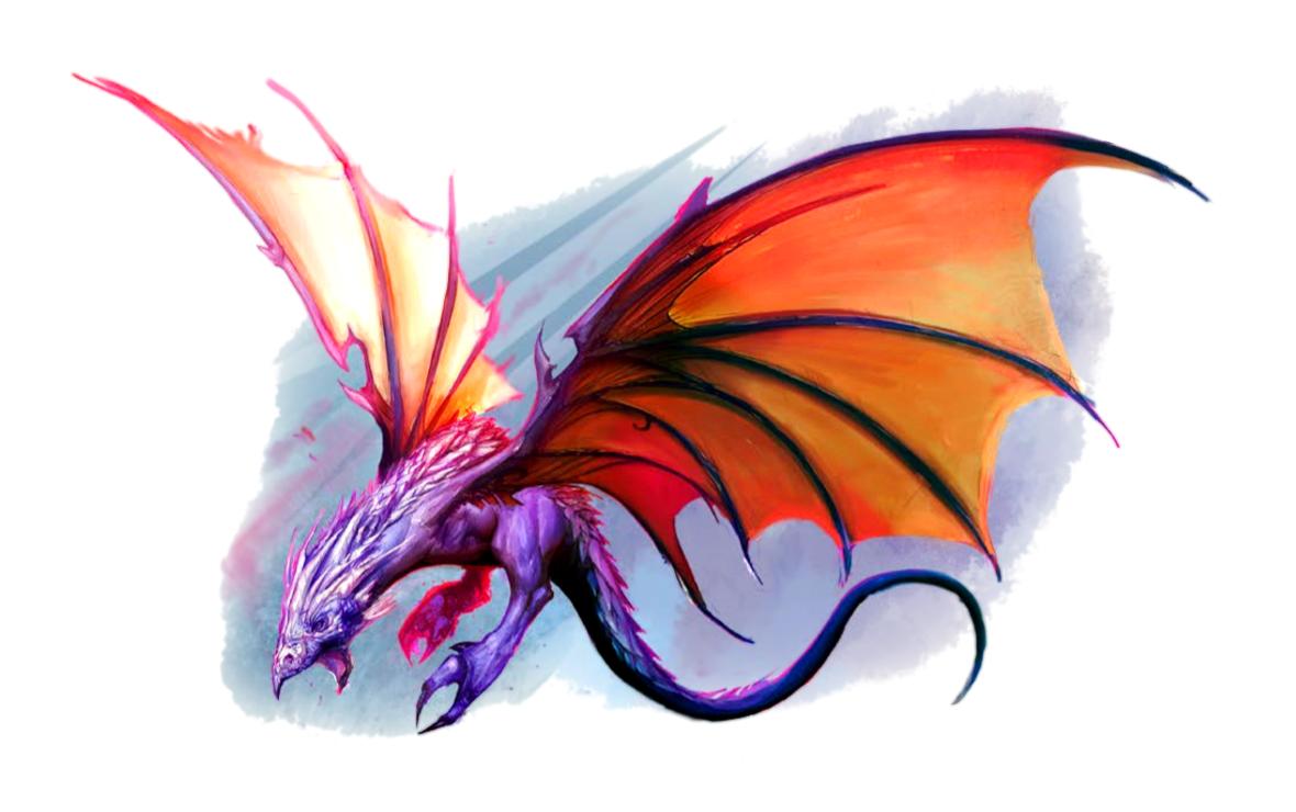 Rift Drake - Pathfinder PFRPG DND D&D 3.5 5E 5th ed d20 fantasy
