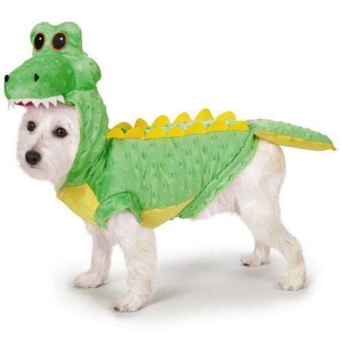 Dog Crocodile Costume Rock Halloween Pet Costumes Puppy Apparel Xs