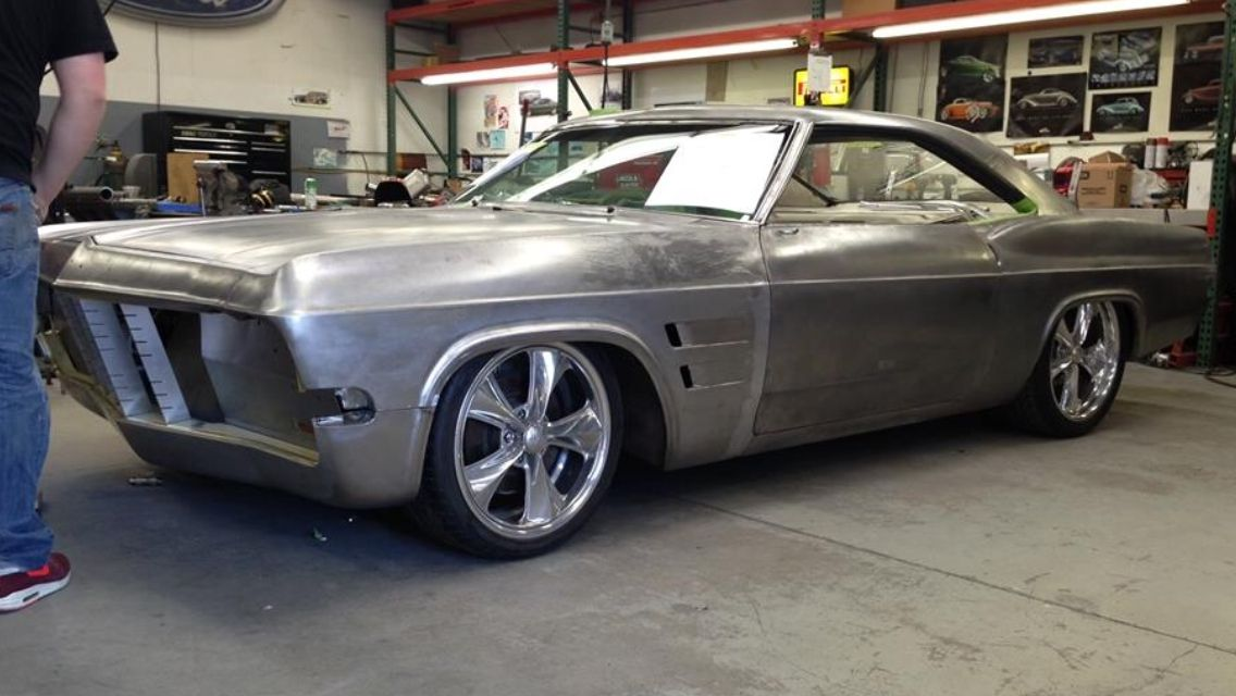 Chip's take on how a '65 impala should look...awesome! | Foose