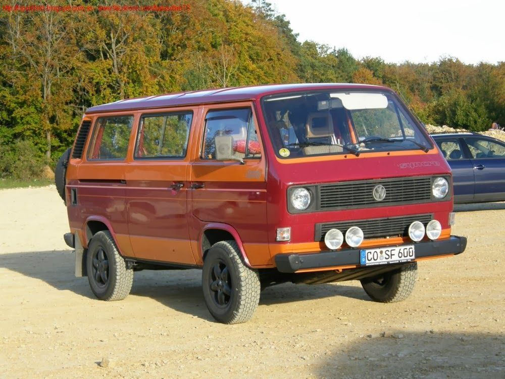 volkswagen t3 t25 vanagon vw galeria t3 syncro 4x4 syncro pinterest furgonetas. Black Bedroom Furniture Sets. Home Design Ideas