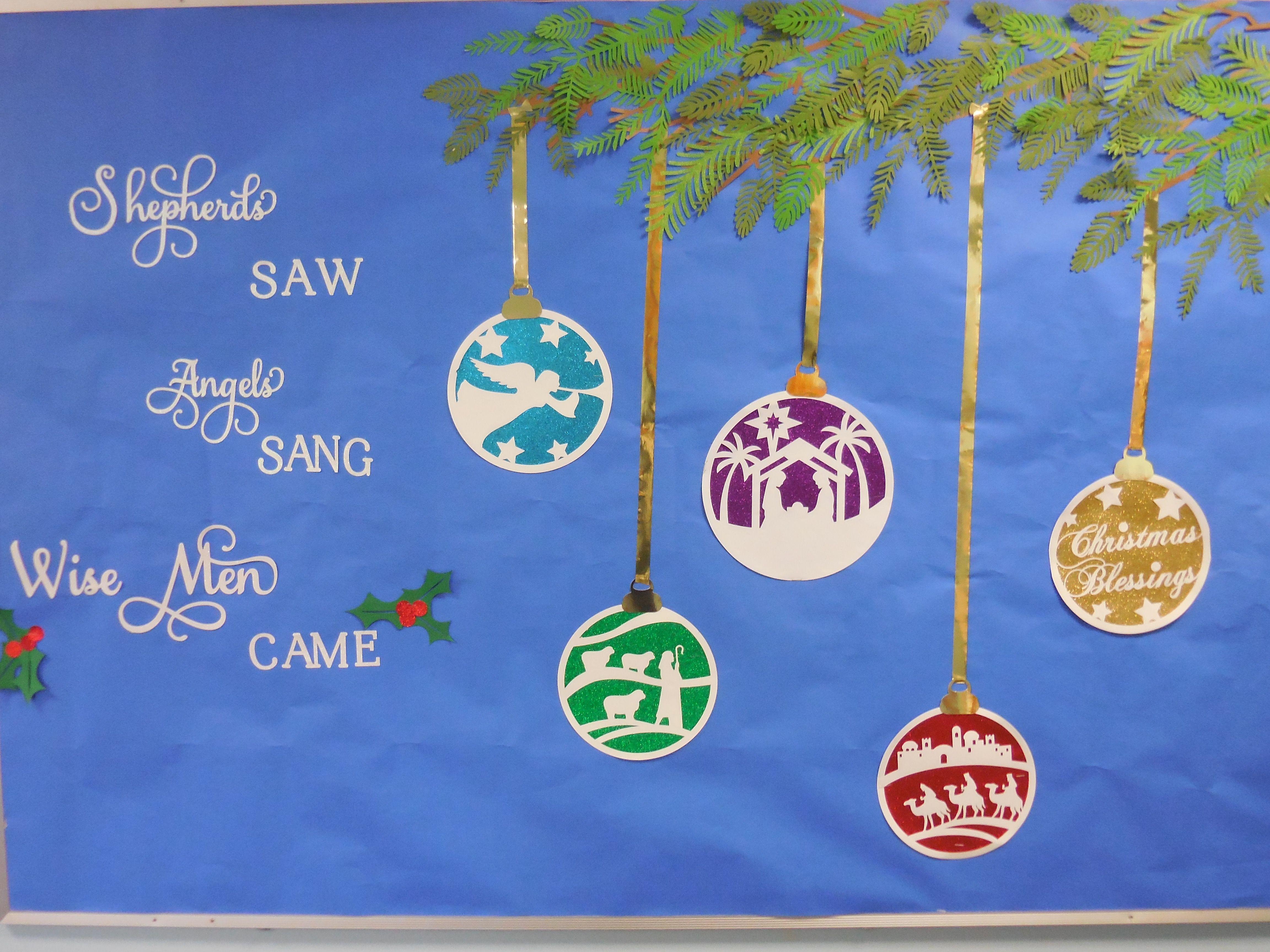 December Christmas Christian Ornaments Wisemen