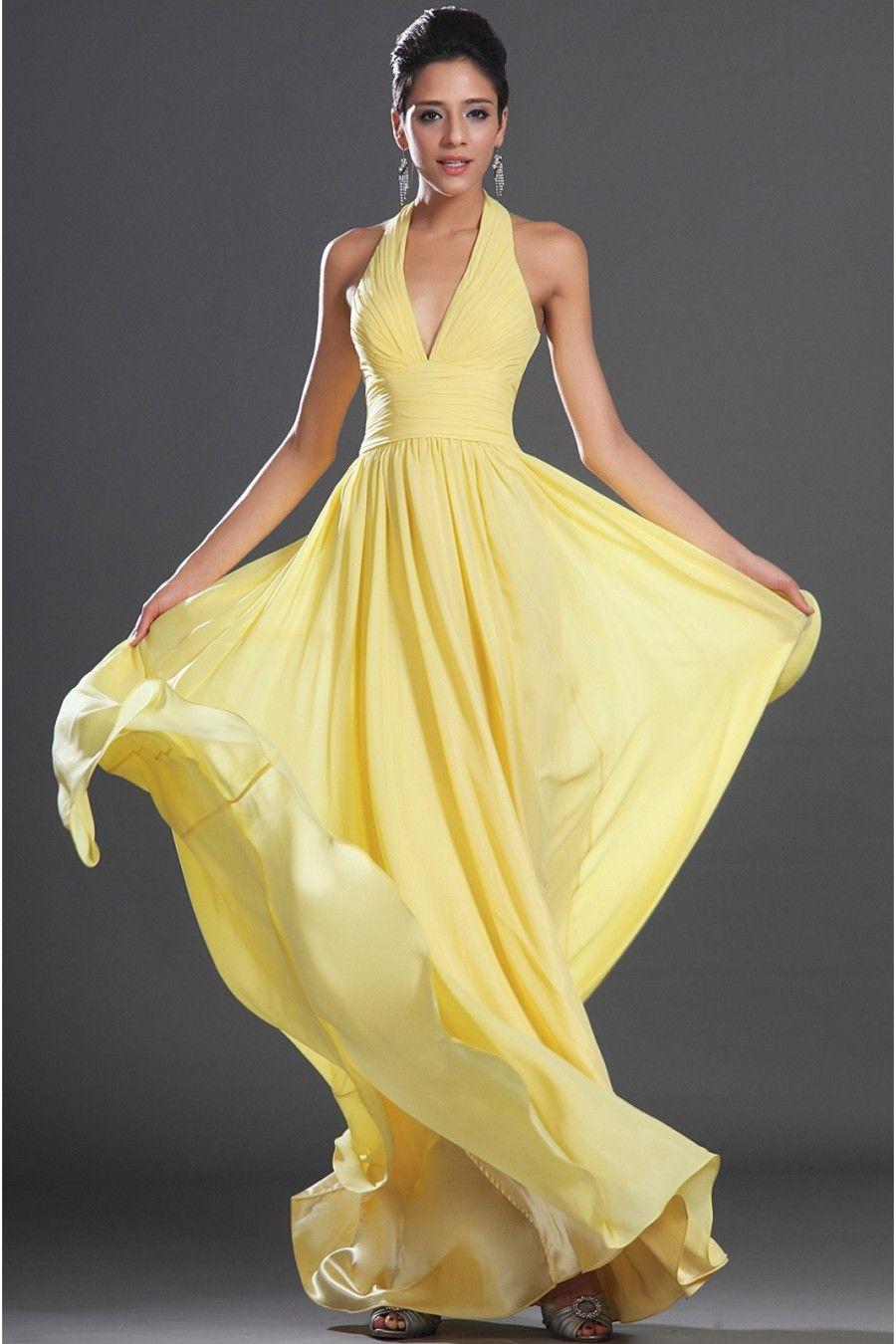 Yellow evening dress long evening dress gorgeous pinterest