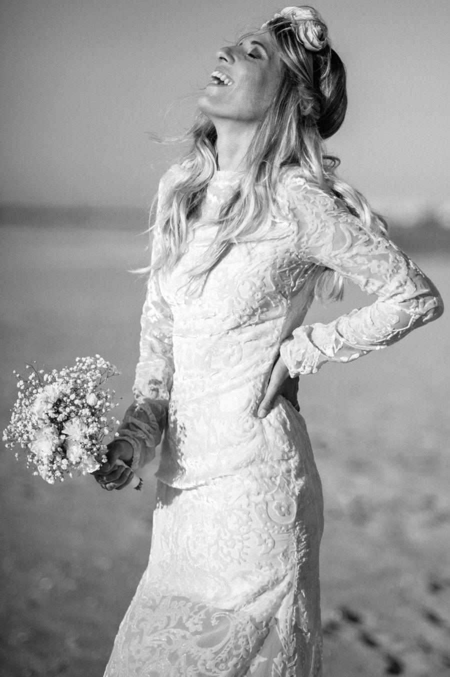 Nossa noiva modelo fez um lindo ensaio de noiva em Nova York.