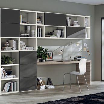 Angolo studio in soggiorno | arredamento | Pinterest