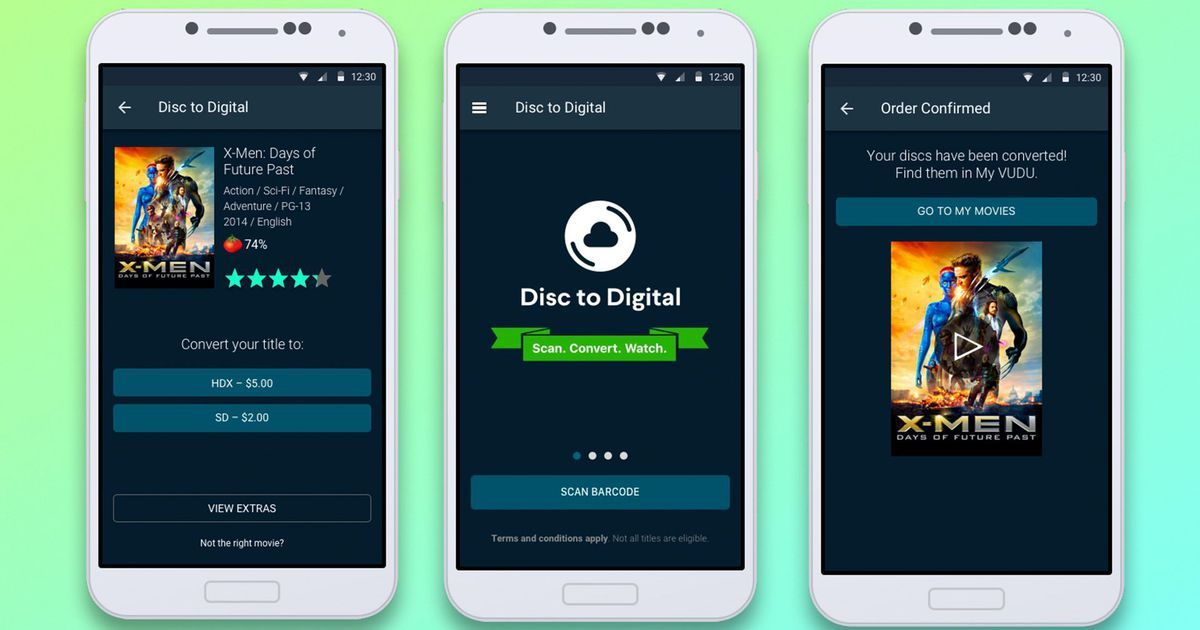 Give your useless dvds new life with this new digital