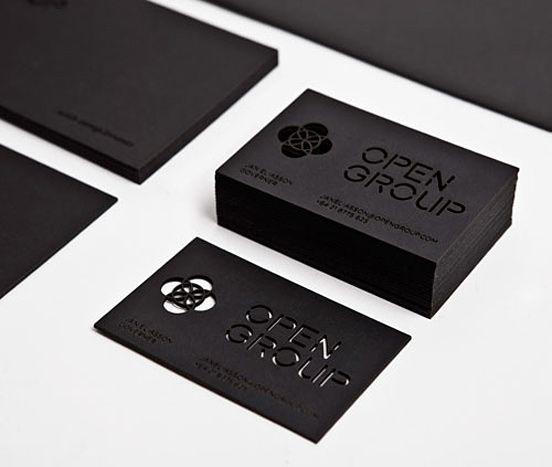 Modern business card example 8 30 modern business card for Example of a business card