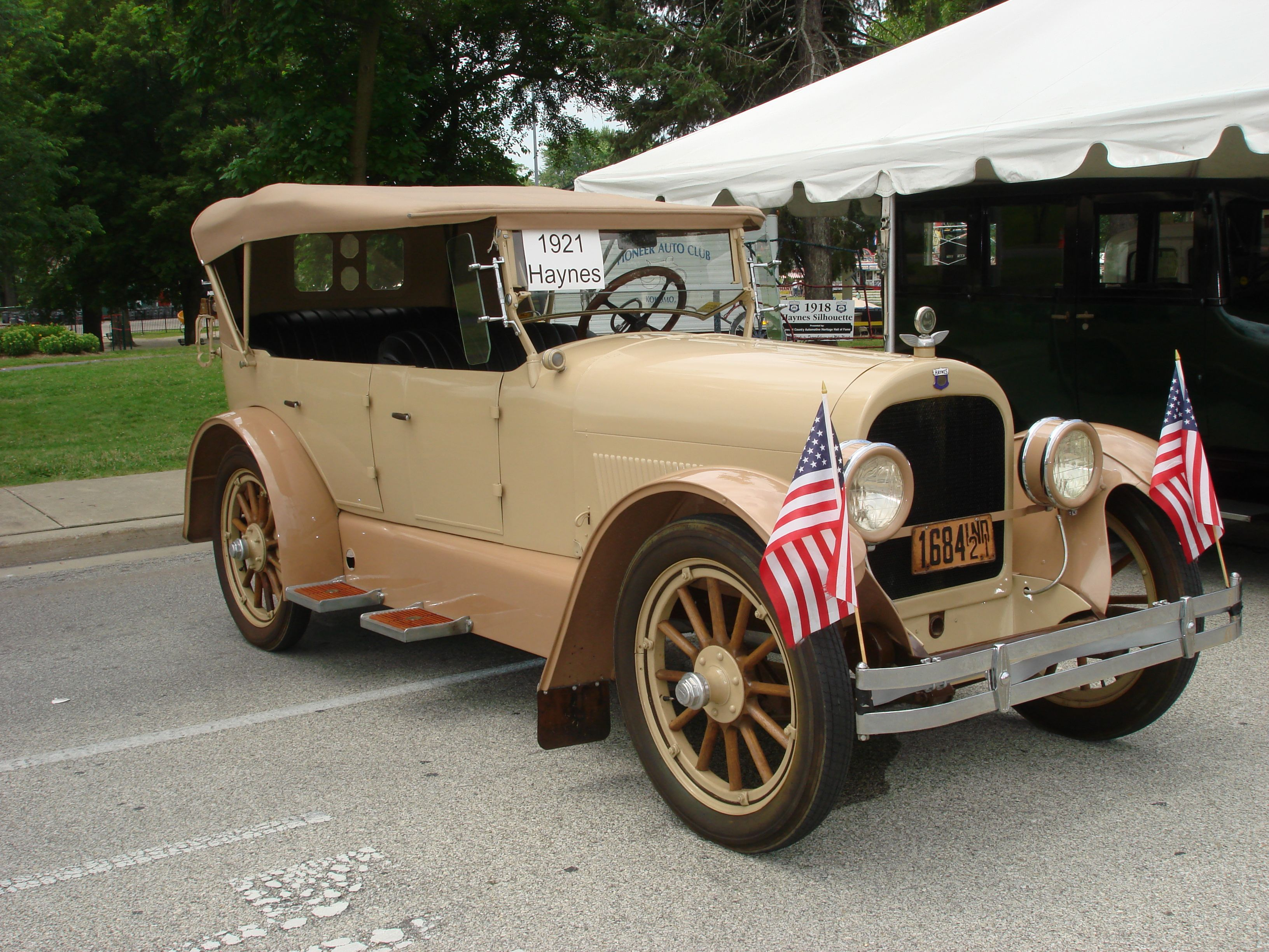 4th of July, 2013. 1921 Haynes. Owned by Dale Etherington