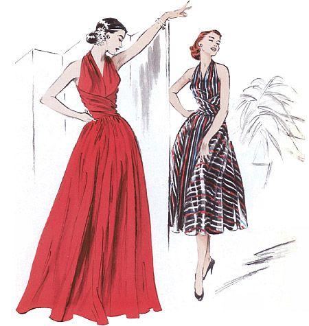 Misses\' Dress | sewing | Pinterest | Diy nähen, Nähprojekte und Nähen