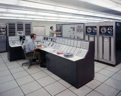 Office display. NASA/Glenn Research Center. April 30, 1973.