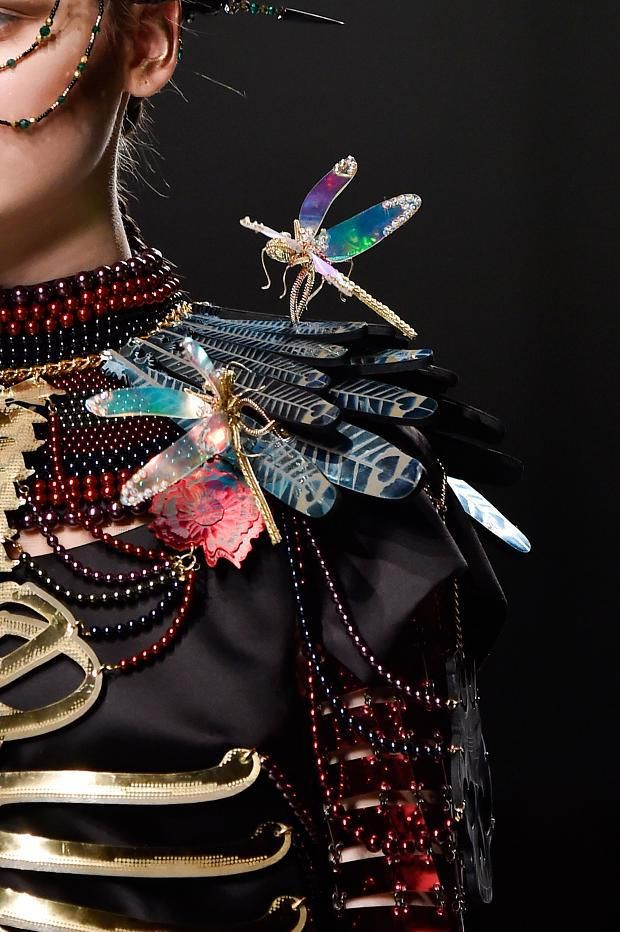Mulberry Bags & ChanelNo5 Manish Arora Fall/Winter 2015 (Details)
