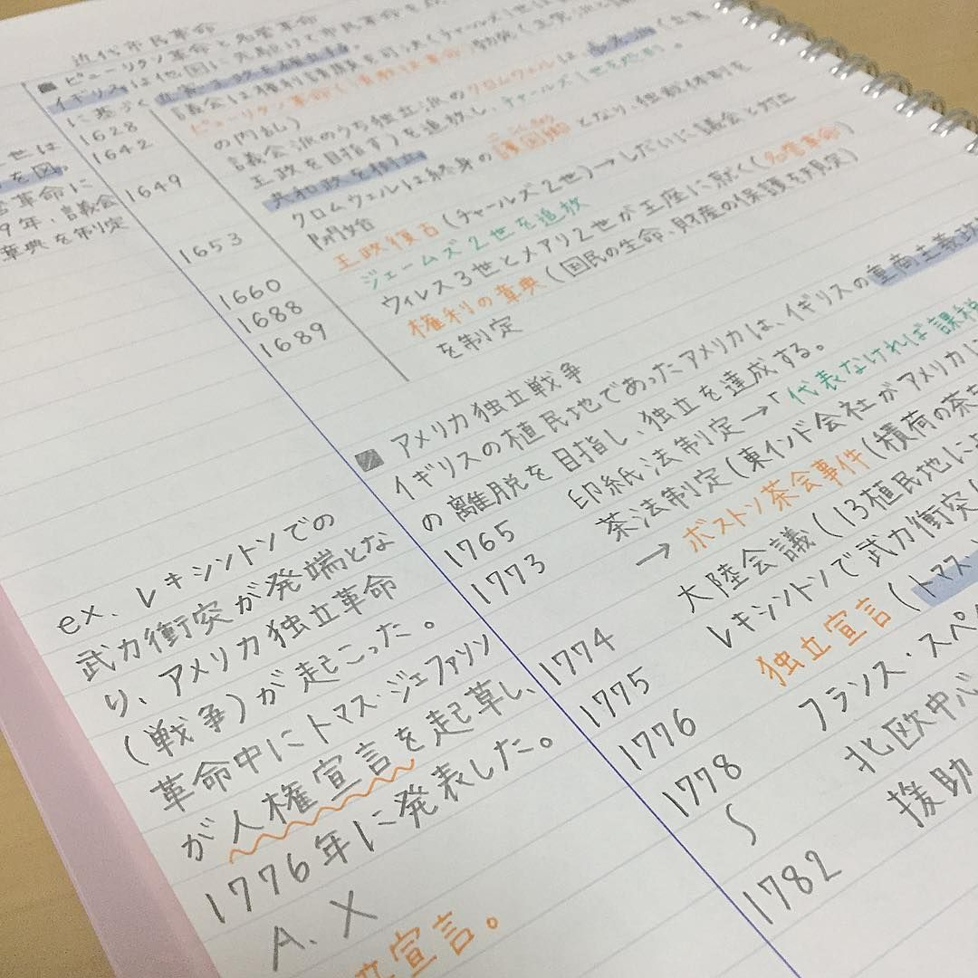 世界 史 の 勉強 の 仕方