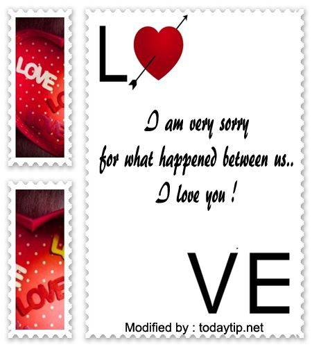 Apology Love Letter Example | Sorry Love Letter For Wife Textpoems Org