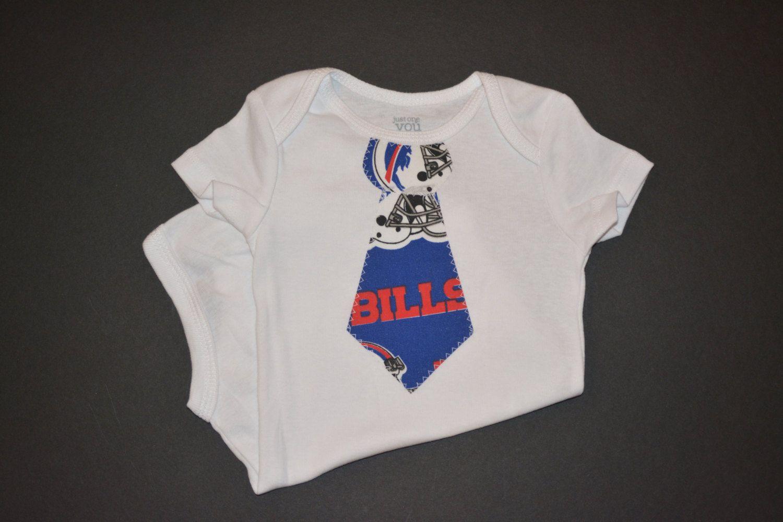 Buffalo Bills Baby Boy - Buffalo Bills Outfit - Buffalo Bills Clothes - Bills Tshirt - Buffalo Bills T-Shirt - Baby Tie Bodysuit or T-Shirt by BrikayDesigns on Etsy