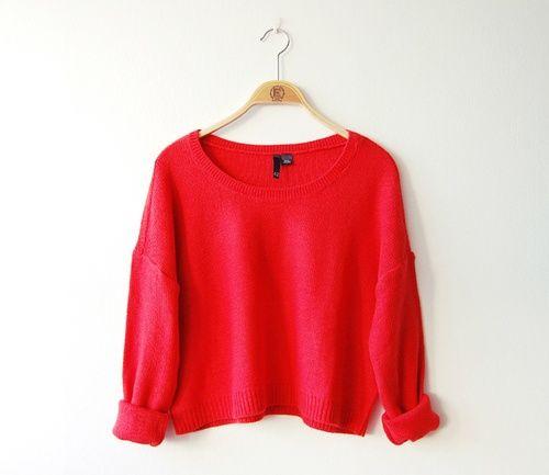 Een warme trui. Deze helpt de winter door als er geen liefde om je heen is die je de nodige warmte kan geven.