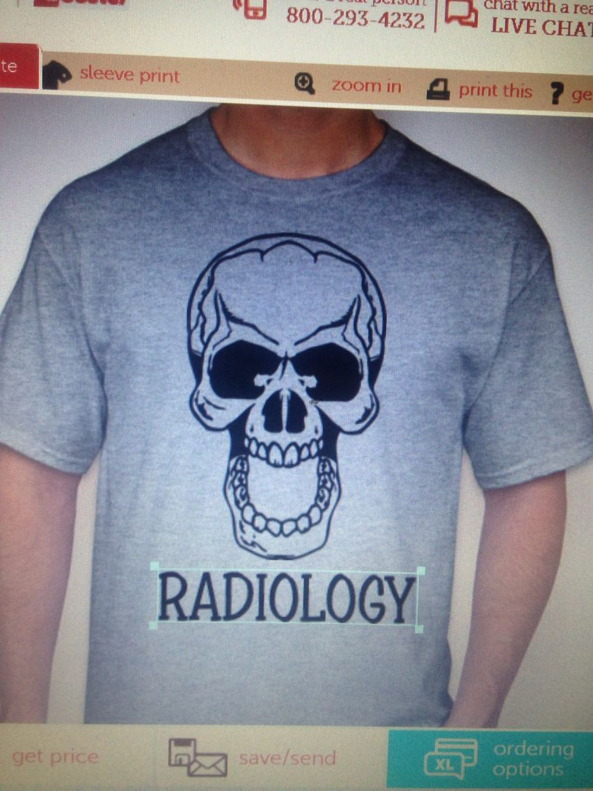 bdaff70d7 Radiology shirt! Has WHAT THE FUCHS on the back! 15$ go to custom ink and  search for radiology to purchase it!