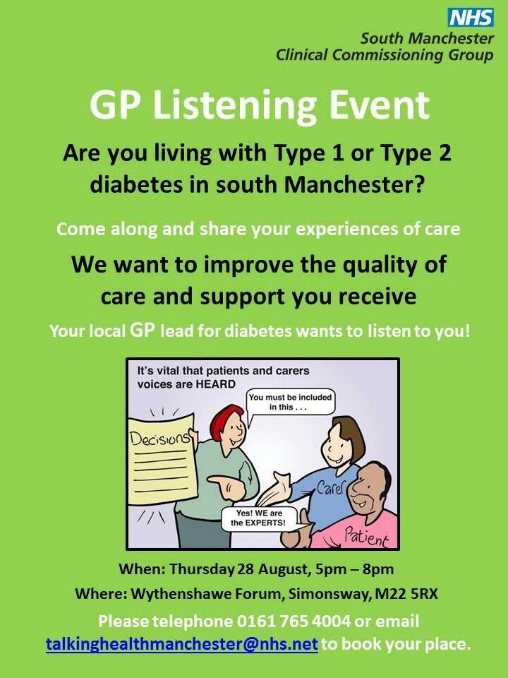 Gp listening event community engagement quality care