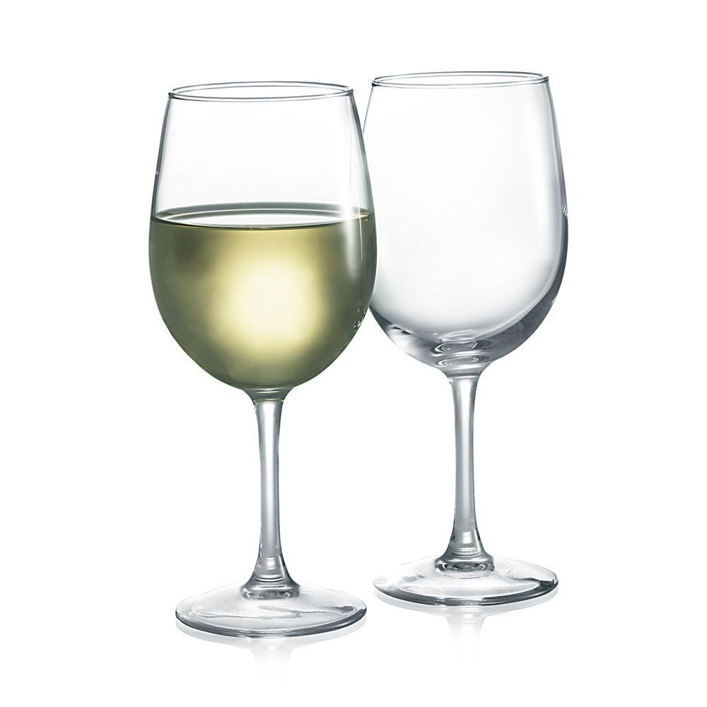 Luminarc Tulip White Wine Glasses Set Of 12 White Wine Glasses