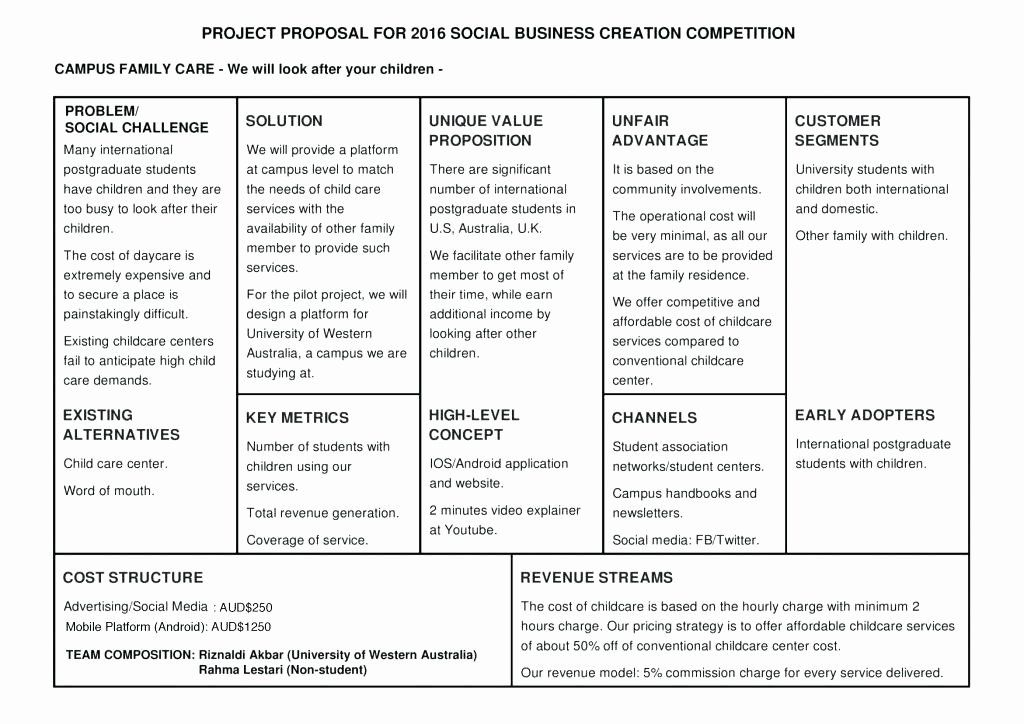 Lovely Daycare Business Plan Template in 2020 Daycare