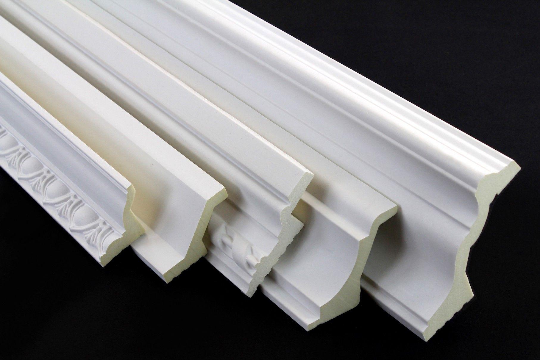 Muster Musterstucke Led Stuckleisten Aus Polyurethane 001 Stuckleisten Bad Decke Led