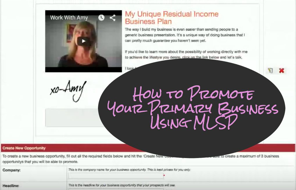 How To Promote Your Primary Business Using Mlsp Business