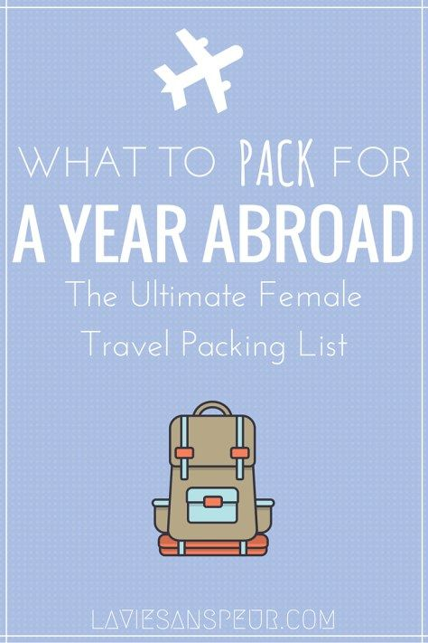 Ultimate Female Packing List For A Year In China  Packing Light