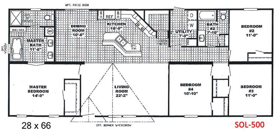 Southern estates mobile homes floor plans for Southern energy homes floor plans