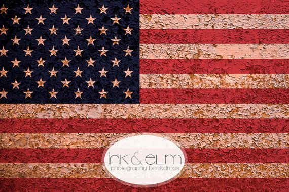 Photography Backdrop Patriotic 4ft X 3ft American Flag Vintage Antique Fourth Of July Background Betsy Ross
