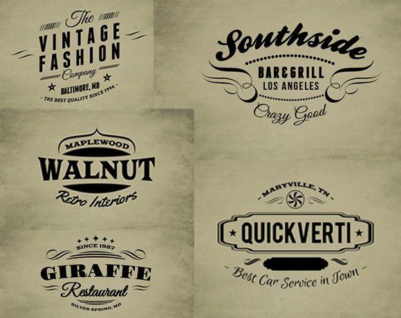 30 free vintage logo templates logo templates template and logos