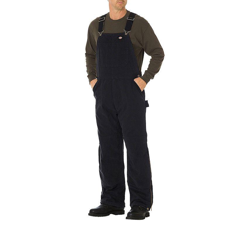 dickies sanded duck bib overalls big tall overalls on womens insulated bib overalls id=42949