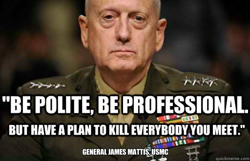 169a9475397bc850fac83c7e15213e78 mad dog mattis in the running for secretary of defense patriotism