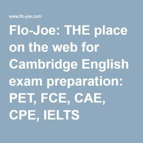 For Teachers And Students Preparing Cambridge English Exams Including First FCE Advanced CAE